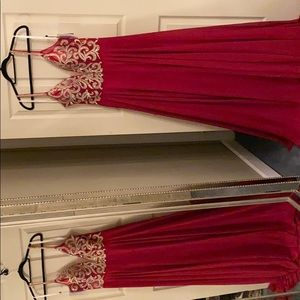 Jovani Full Length Red Gown